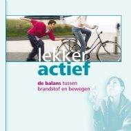 brandstof en bewegen - Suikerinfo.nl
