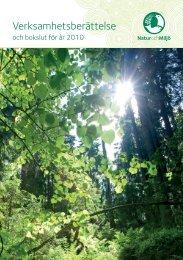 Verksamhetsberättelse - Natur och miljö