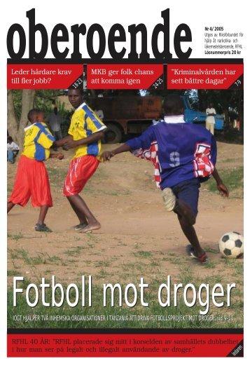 Fotboll mot droger - RFHL