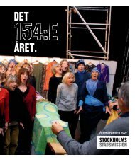 Årsredovisning 2007 - Stockholms Stadsmission