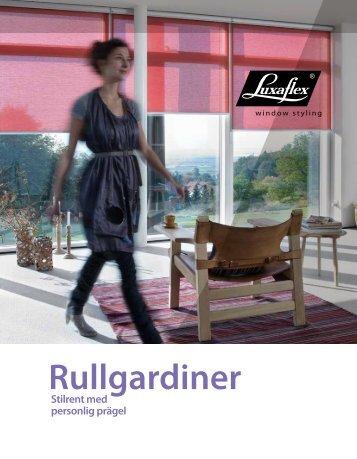 Rullgardiner - Luxaflex