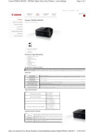 Page 1 of 3 Canon PIXMA MX455 - PIXMA Inkjet All-in-One Printers ...