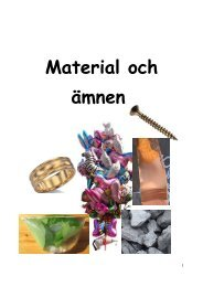 Gaser och andra ämnen - Raseborg
