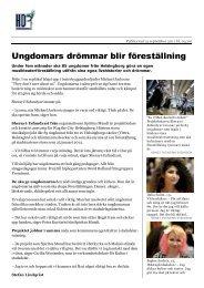 Helsingborgs Dagblad 20110913 - Spiritus Mundi