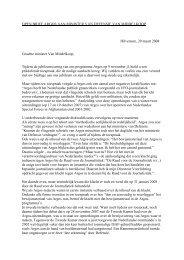 Lees de open brief. - openheid over irak