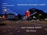 Doetinchem duurzaam verlicht team stedelijk beheer Bas Römer