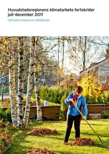 Översikt juli-december 2011 - HSY - Helsingin seudun ...