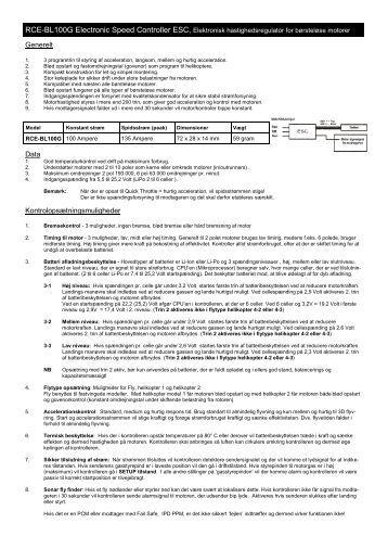 Align 75a Esc Manual