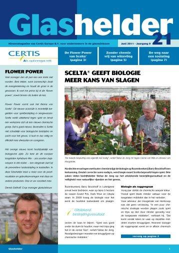 ScELta® GEEFt BIOLOGIE MEER KaNS VaN SLaGEN - Certis Europe