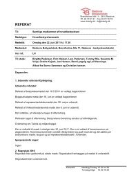 Referat af mødet den 22. juni 2011 - Rødovre Boligselskab
