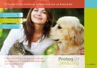 Brochure Proteq - Dierenartsen praktijk Laakkwartier