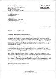 13.000351 Duurzaam Agrarisch BV inz. nieuw beleggingsfonds ...