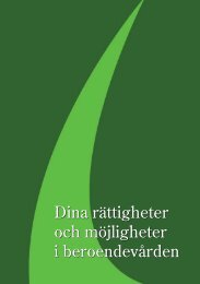 Dina rättigheter och möjligheter i beroendevården - RFHL