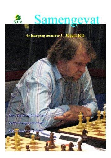 6e jaargang nummer 3 - 30 juni 2011 - Schaakcombinatie HTV