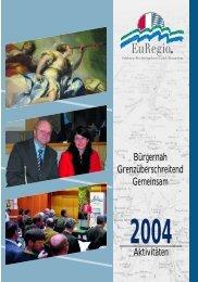 2004 - EuRegio Salzburg - Berchtesgadener Land - Traunstein