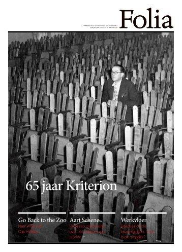 65 jaar Kriterion - Folia Web
