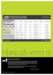 Hjælp på nettet til LED-indkøb - Energiforum Danmark