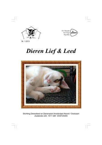 Editie 1-2013 - Stichting Dierenleed