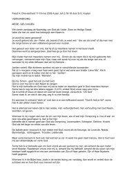 Feest H. Drie-eenheid 17-18 mei 2008 A jaar ... - Parochie Dongen