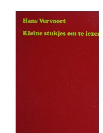 Kleine_stukjes_om te lezen pdf - Hans Vervoort