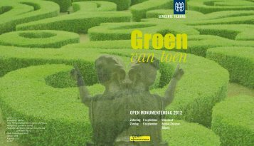 omslag van de brochure