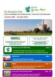 De Groene Flits - Stichting Groene Hart