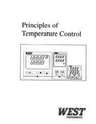 Principles of Temperature Control - West Instruments de México, SA