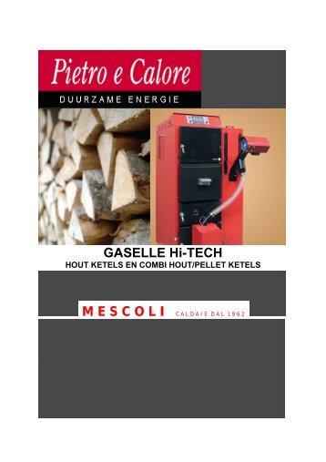 Mescoli houtvergasser pellet combi - Stookgoedkoop