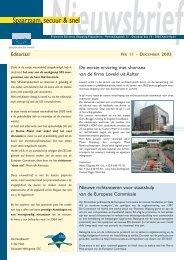Nieuwsbrief 11 (860 KB) - Shortsea Shipping Vlaanderen