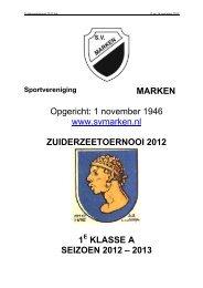 Programmaboekje Zuiderzeetoernooi 2012 in PDF - Schouten ...