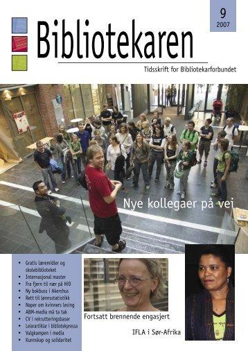 Nye kollegaer på vei - Bibliotekarforbundet