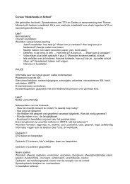 Uitwerking per les van de cursus (pdf) - LOWAN