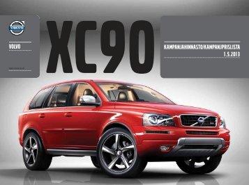 xc90kampanjahinnasto/kampanjprislista 1.5.2013 ... - Motorcompany