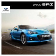 Brochure downloaden - Subaru Benelux