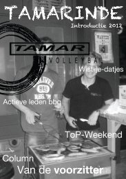 Intro kant B - Tamar