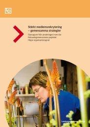 Stärkt medlemsrekrytering – gemensamma strategier - Runö ...