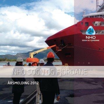 Last ned vår årsmelding for 2012 her (PDF-format) - NHO