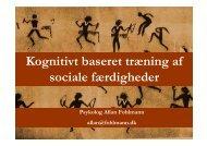 Social Færdighedstræning. Allan Fohlmann - OPUS