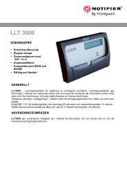 LLT 3000 - Notifier