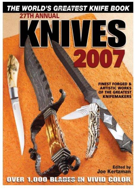 building art knife bolsters kertzman joe