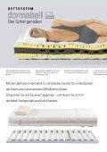 Den Schlaf genießen Das Bettsystem dormabell CL - Seite 2