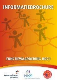 Brochure HR21 - Veiligheidsregio IJsselland