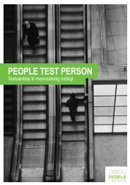 PTP - People Test Systems