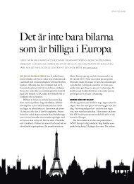 Publicerad i Lidingö magasin #4–2012. - Fondmarknaden