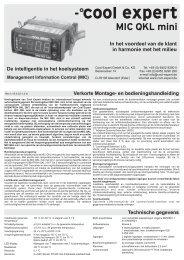 Technische gegevens Verkorte Montage- en ... - Verniest