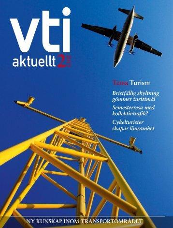 Ladda ner VTI aktuellt nr 2-2013 (pdf)
