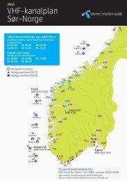 Last ned VHF-kanalplan (PDF) - Telenor Maritim Radio