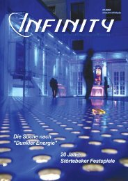 GEWINNEN - Infinity - Halstenbeker Magazin