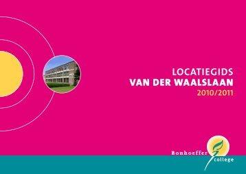 LOCATIEGIDS VAN DER WAALSLAAN - Bonhoeffer College