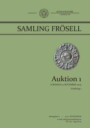 Auktion 1 SAMLING FRÖSELL